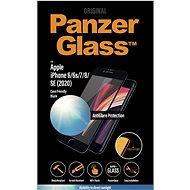 PanzerGlass Edge-to-Edge für Apple iPhone 6 / 6s / 7/8 / SE 2020 Schwarz mit Anti-Glare - Schutzglas