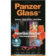 PanzerGlass ClearCase Antibakteriell für Samsung Galaxy S21 Ultra Black Edition - Handyhülle