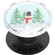 PopSockets PopGrip Gen.2 - Tidepool Snowglobe Wonderland - Märchenlandschaft in einer Flüssigkeit - Handyhalter