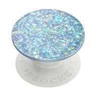 PopSockets PopGrip Gen.2 - Iridescent Confetti Ice Blue - Wechselnder Glitzer - Handyhalter