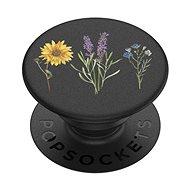 PopSockets PopGrip Gen.2 - Vintage Garden Black - Blumen auf schwarzem Grund - Handyhalter
