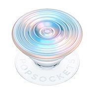PopSockets PopGrip Gen.2 - Ripple Opalescent Blue - opaleszierend - 3D weiß-bläulich - Handyhalter