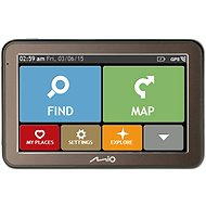 MIO Spirit 7670 Lifetime - GPS Navigation