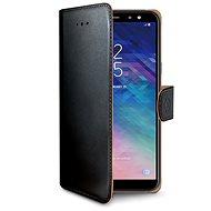 CELLY Wally für Samsung Galaxy A6 schwarz - Handyhülle