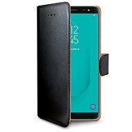 CELLY Wally für Samsung Galaxy J6 schwarz - Handyhülle