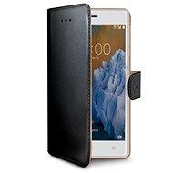 CELLY Wally für Nokia 3 schwarz - Handyhülle