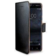 CELLY Wally für Nokia 5 schwarz - Handyhülle