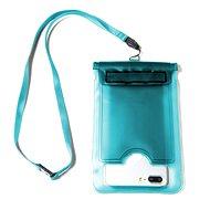 """CELLY Splash Bag für 5,7"""" Telefone blau - Handyhülle"""