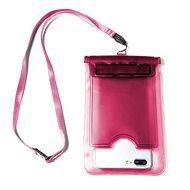 """CELLY Splash Bag für 5,7"""" Telefone rosa - Handyhülle"""