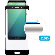 FIXED FullGlue-Cover für Nokia 3.2, geklebt über das ganze Display, Schwarz - Schutzglas