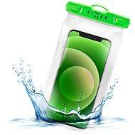 FIXED Float Cover mit Verschlusssystem und IPX8 Zertifizierung - limette - Handyhülle