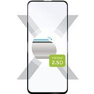 FIXED FullGlue-Cover für Samsung Galaxy A51 Black - Schutzglas