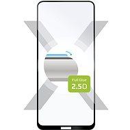 FIXED FullGlue-Cover für Nokia 3.4 - schwarz - Schutzglas