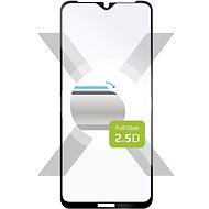 FIXED FullGlue-Cover für Nokia 2.4 - schwarz - Schutzglas