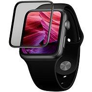 FIXED 3D Full-Schutzglas mit Applikator für Apple Watch 42mm schwarz - Schutzglas
