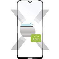 FIXED FullGlue-Cover für Nokia 1.4 schwarz - Schutzglas