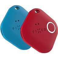 FIXED Smile PRO Duo Pack - blau + rot - Bluetooth Lokalisierungschip