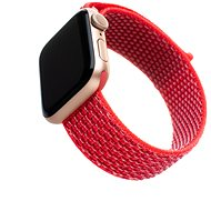 FIXED Nylon Strap für Apple Watch 44 mm / Watch 42 mm - dunkelrosa