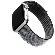 FIXED Nylon Strap für Apple Watch 44 mm / Watch 42 mm - grau
