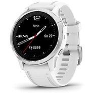 Garmin Fenix 6S Glass Silver/White Band - Smartwatch