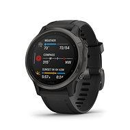 Garmin Fenix 6S Sapphire, Gray/Black Band (MAP/Music) - Smartwatch