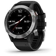 Garmin Fenix 6 Silver/Black Band - Smartwatch