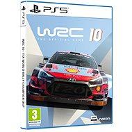 WRC 10 The Official Game - PS5 - Konsolenspiel