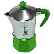 Bialetti Happy für 3 Tassen - Grün - Mokkakocher