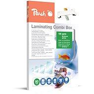 Laminierfolie PEACH PPC500-03 Combi Box 100 Laminierfolien - Laminovací fólie