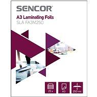 SENCOR SLA FA3M250 A3 250mic - 25 Stück - Laminierfolie