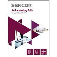 Laminierfolie SENCOR SLA FA4B250 A4 250mic - Packung 100 Stück - Laminovací fólie