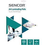 Laminierfolie SENCOR SLA FA4M150 A4 150mic - 25 Stück