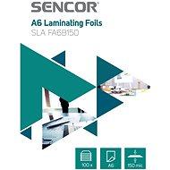 Laminierfolie SENCOR SLA FA6B150 A6 150mic - Packung 100 Stück
