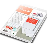 Peach PBT100-14 Binding Combi Box für Thermal Binder, 20 Stück - Binderücken