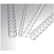 EUROSUPPLIES A4 - 19 mm - transparent - 100 Stück Packung - Binderücken