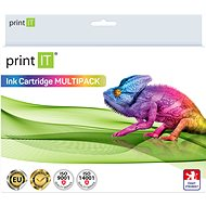 PRINT IT Kit Epson T0715 C/M/Y/Bk - Alternative Tintenpatrone
