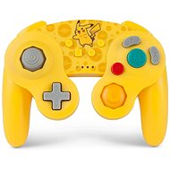 PowerA GameCube Style Wireless Controller - Pokémon Pikachu - Nintendo Switch - Gamepad