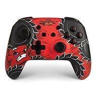 PowerA Enhanced Wireless Controller - Super Meat Boy - Nintendo Switch - Gamepad