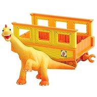 Dinosaur Train - Ned mit einem Waggon - Spielset