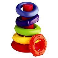 Playgro Kunststoffringe - Didaktisches Spielzeug