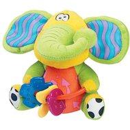 Playgro Klapper-Elefant mit Beißspielzeug - Stoffspielzeug