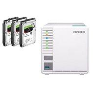 QNAP TS-328 + 3 x 4 TB Festplatte RAID5 - Datenspeicher