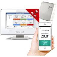 Honeywell EvohomeTouch WiFi-Steuereinheit mit Netzteil + Relaiseinheit - Set zur Heizungssteuerung
