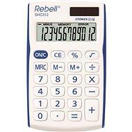 REBELL SHC 312 weiß / blau - Taschenrechner