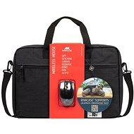"""RIVA CASE 8038 15.6"""" + kabellose Maus - Laptop-Rucksack"""