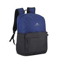 "RIVA CASE 5560 15,6"" schwarz / blau - Laptop-Rucksack"
