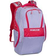 """Laptop-Rucksack RIVA CASE 5265 17,3"""" grau / rot"""