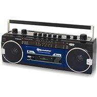 Roadstar RCR-3025 EBT BL - Radio mit Kassettenrecorder