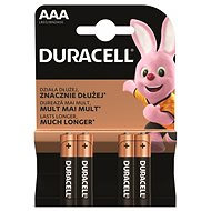 Einwegbatterie Duracell Basic AAA 4 Stück - Jednorázová baterie