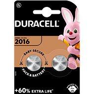 Duracell CR2016 2 Stk - Knopfbatterie
